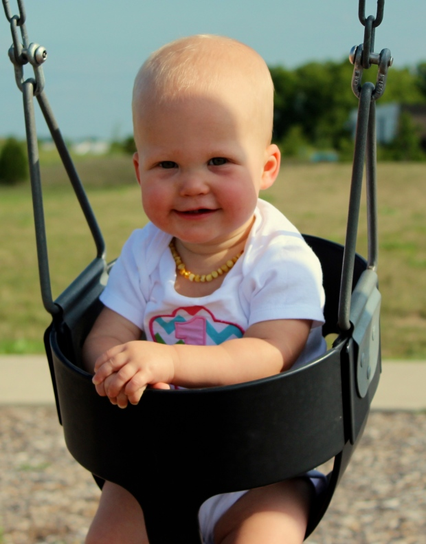 Loves to swing!