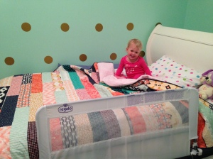 My new big girl bed!